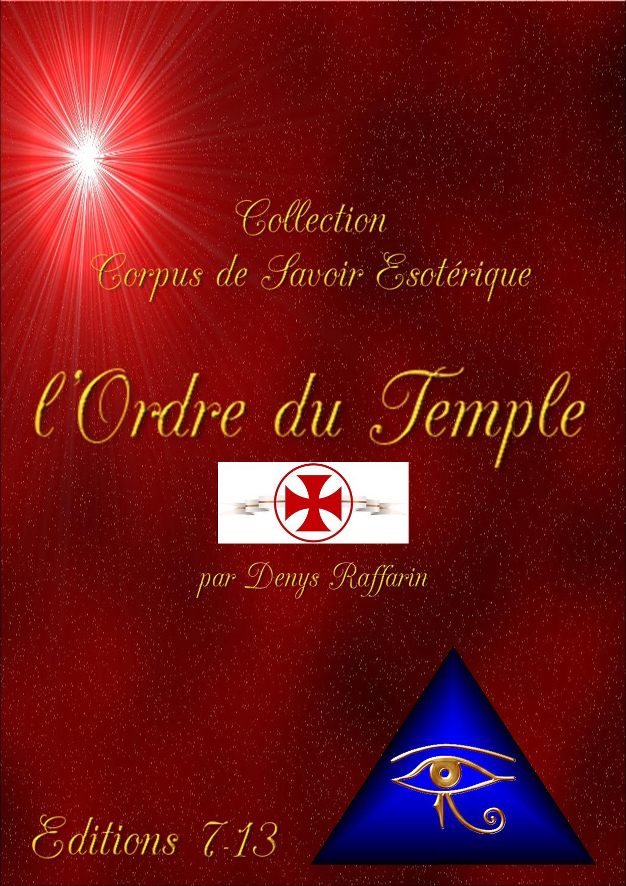 ordre du temple page de garde